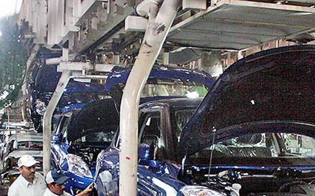 Automobile majors resume partial operations