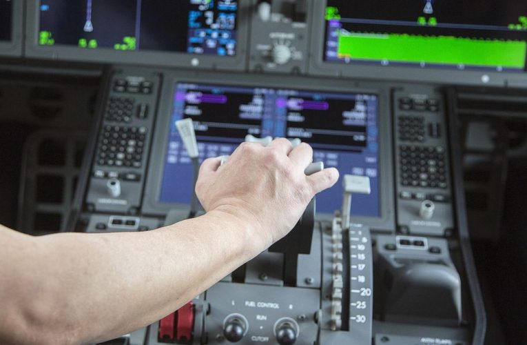 There's No Escape From the Virus in a Cockpit at 30,000 Feet