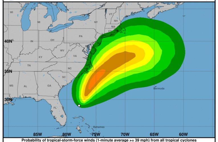 Tropical Storm Arthur Forms, 1st Named Storm of Season