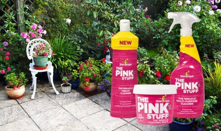 Mrs Hinch fan cleans her filthy patio with £1 cleaning product