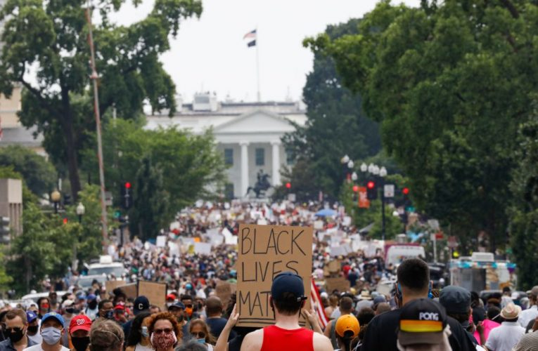 Thousands March In D.C. In Largest Day Of Protests Since Death Of George Floyd