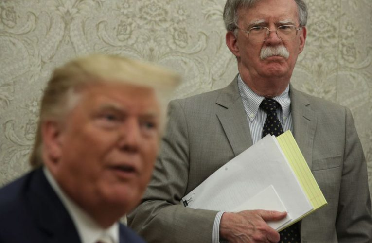 Trump Administration Seeks Injunction to Block Bolton Book
