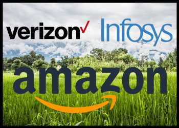 Verizon, Infosys Join Climate Pledge Co-founded By Amazon
