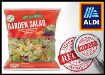 ALDI Recalls Garden Salad For Potential Cyclospora Infection
