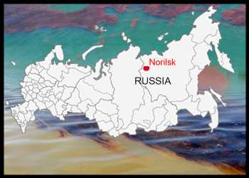 Russian President Declares State Of Emergency After Massive Oil Leak In Arctic Circle