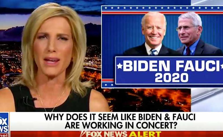 Laura Ingraham Spews Yet Another Wild Conspiracy Theory About Anthony Fauci