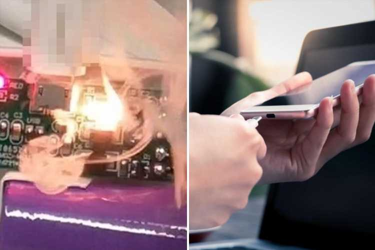 Hackers can now make phone chargers destroy your phone or set it on FIRE – how to stay safe