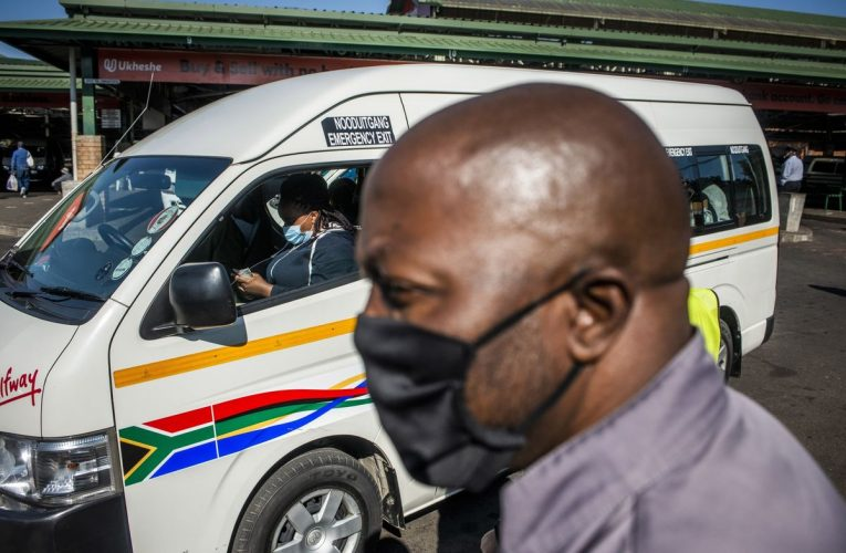 Full Taxis Are a South African Reality Even Virus Can't Change