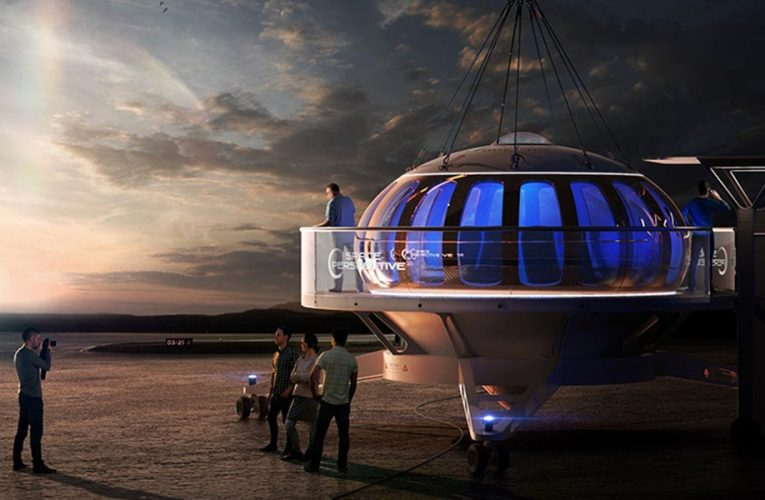 A startup is building a balloon to transport tourists to the 'edge of space' for $125,000. See what the Spaceship Neptune may look like.