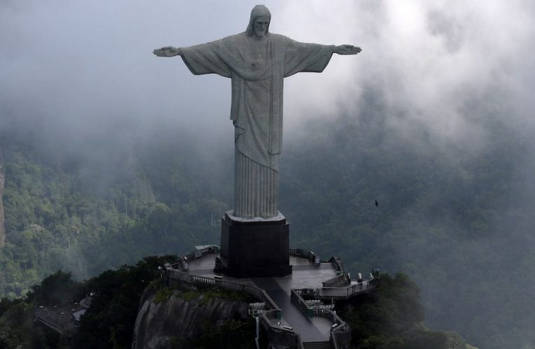 Trump campaign claims the president will protect Brazil's famous Christ the Redeemer statue from vandalism and destruction