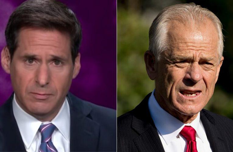 CNN's John Berman scolds Peter Navarro for using term 'China virus'