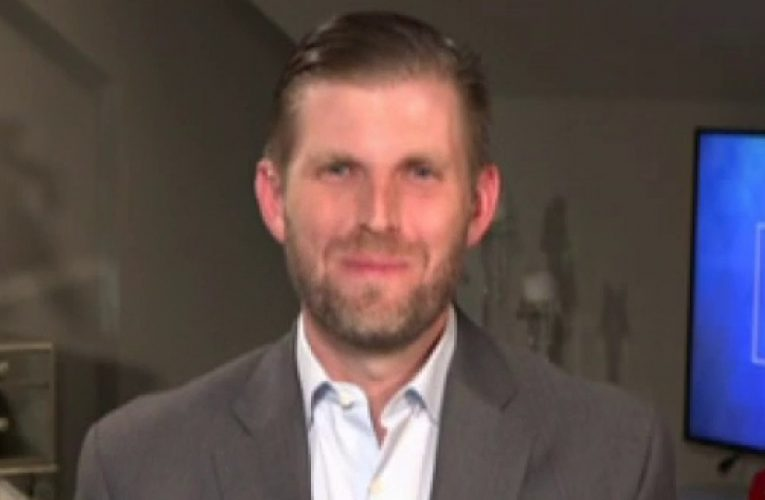 Eric Trump on Biden's sit-down with Obama: 'How daring he is to come out of his basement'