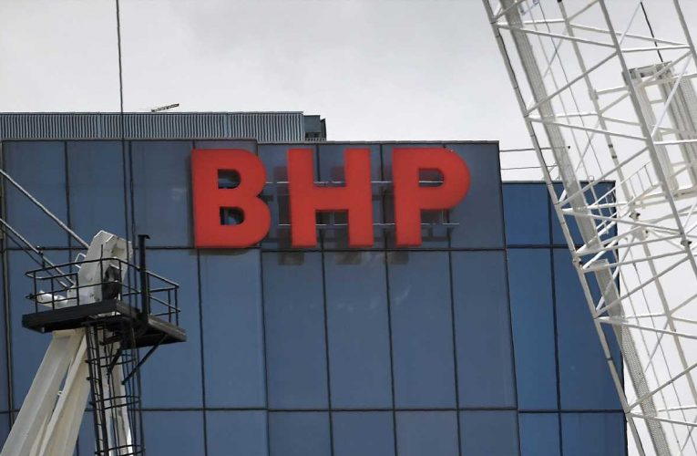BHP Group CEO says China experiencing 'pretty solid V-shaped recovery'