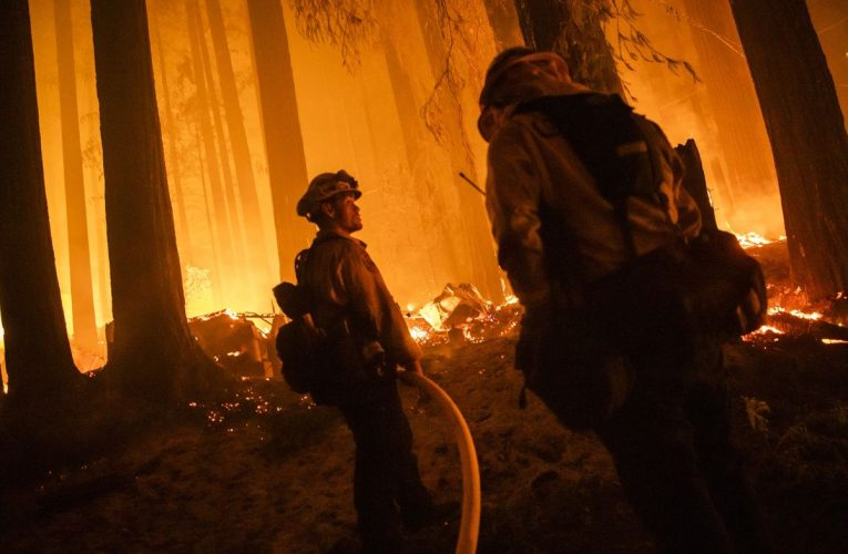 Fires Roil California's Virus Fight Just as Outbreak Was Easing