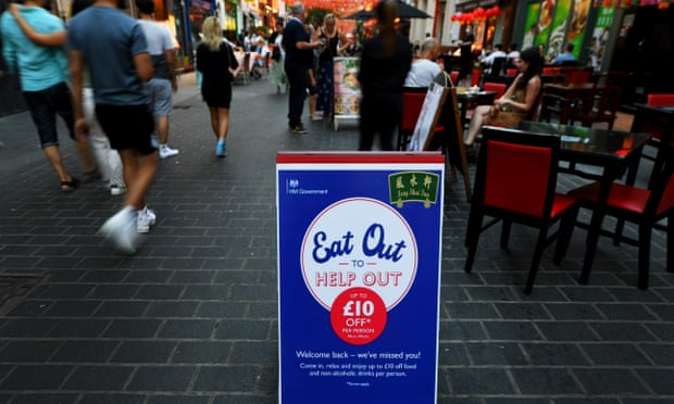 Eat out to help out: Britons claim 35m discounted meals