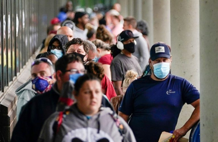 Nearly one third of people that have gone back to work after being laid off during the coronavirus pandemic have lost their jobs again, study finds