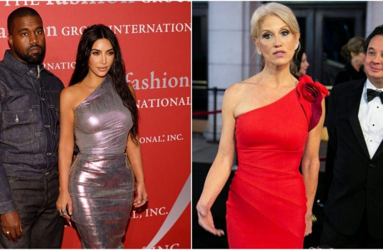 From Kim and Kanye to the Conways: 12 famous relatives with very different political views