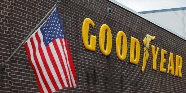 Trump urges Americans to boycott Goodyear Tire after the company told employees they couldn't wear MAGA hats or any political attire to work