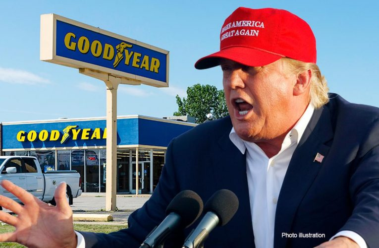 Goodyear clarifies policy on MAGA, pro-police gear after Trump boycott call
