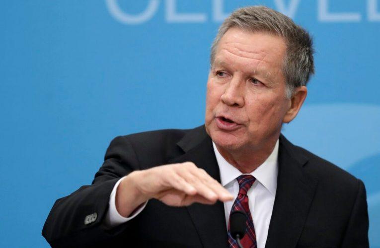 Twitter buzzes after Kasich says former GOP congressman will endorse Biden
