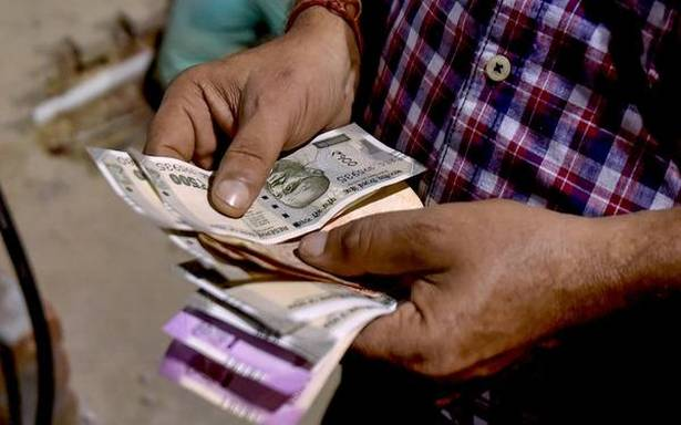 Rupee slips 3 paise to 75.04 against U.S. Dollar