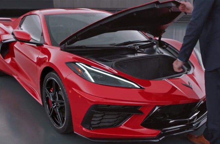 2020 Chevrolet Corvette recalled so you don't get stuck it its 'frunk'