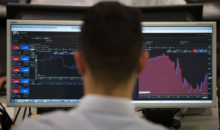 FTSE 100 LIVE: Pound PLUNGES ahead of crunch Brexit talks – but index surges