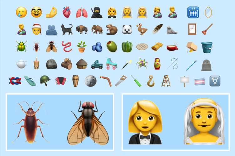 Apple adds 117 new emoji to your iPhone – with gender-neutral icons and NEW smiling face