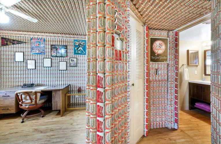 $100K Florida home covered in Budweiser cans sparks bidding war