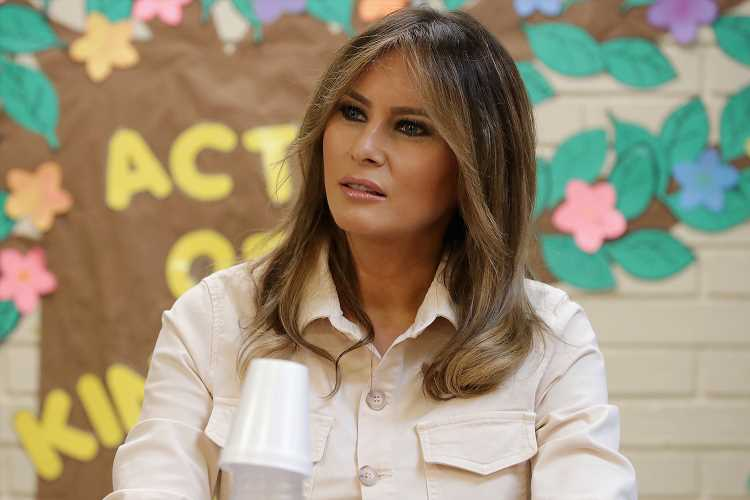 Melania Trump Scolds the Attention on 'Malicious Gossip' After Ex-Friend's Biting Tell-All