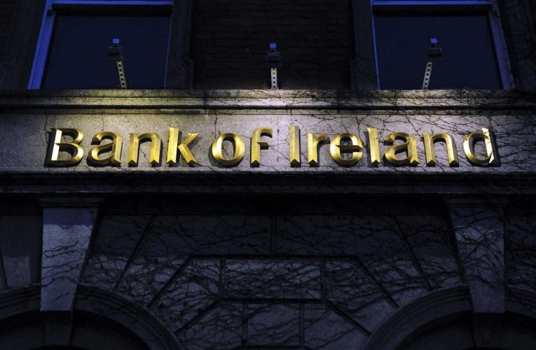 Bank of Ireland chief says the economy is showing positive signs, but banks will feel the brunt