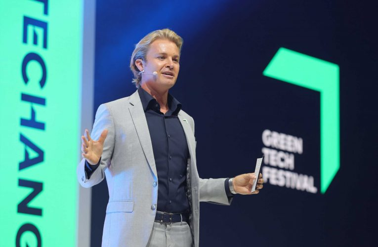 Former F1 champion Nico Rosberg calls for governments to 'up their game' on climate change