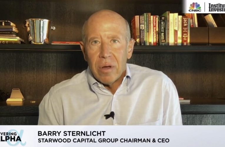 Barry Sternlicht sees a 'significant correction in high flying stocks' with a Democratic sweep
