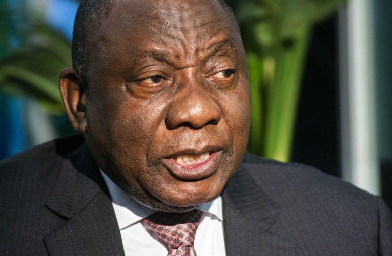 South Africa Readying Economic Reboot Plan, Ramaphosa Says