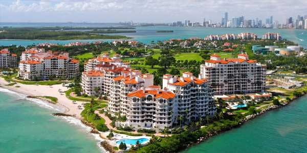 Inside the richest zip code in America, a private island off of Miami Beach