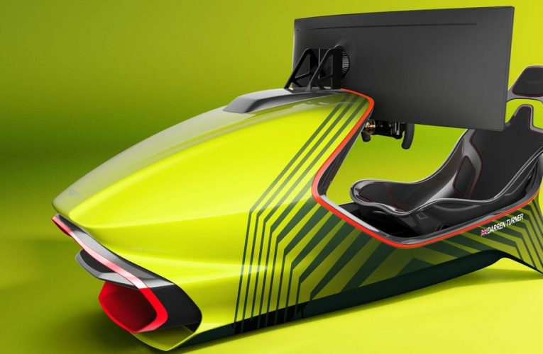 Aston Martin built a $74,000 race car for your living room — check it out
