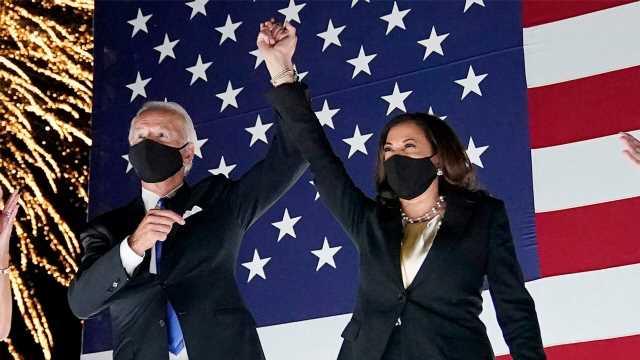 Biden bungles Dem ticket, refers to 'Harris-Biden administration' in campaign speech