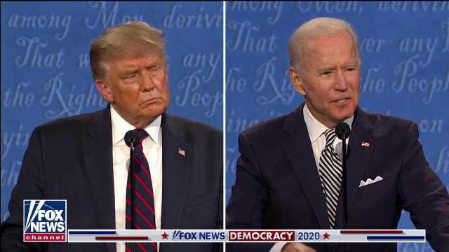 Biden cashes in on debate as his campaign touts fundraising record