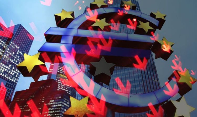 Eurozone meltdown: €1trillion gap exposed as Brexiteers highlight why EU needs UK deal