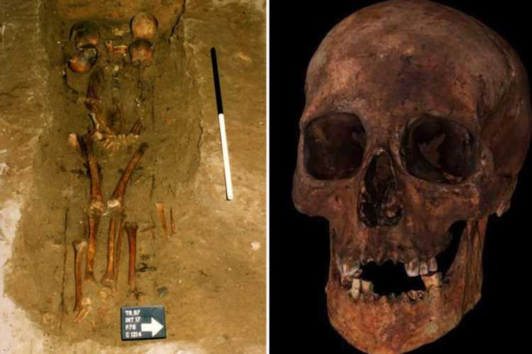 Eerie medieval grave of 'Six-Headed Chief' buried with half a dozen Scottish skulls baffles archaeologists