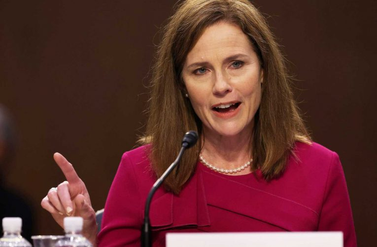 Amy Coney Barrett will take questions Tuesday at Supreme Court confirmation hearings