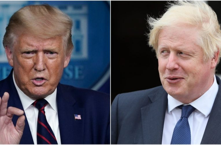 Boris Johnson, who almost died from the coronavirus, wishes Trump and the First Lady 'a speedy recovery'