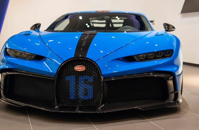 Take an exclusive tour of this $4 million Bugatti, which will run you $10,000 for a set of tires alone