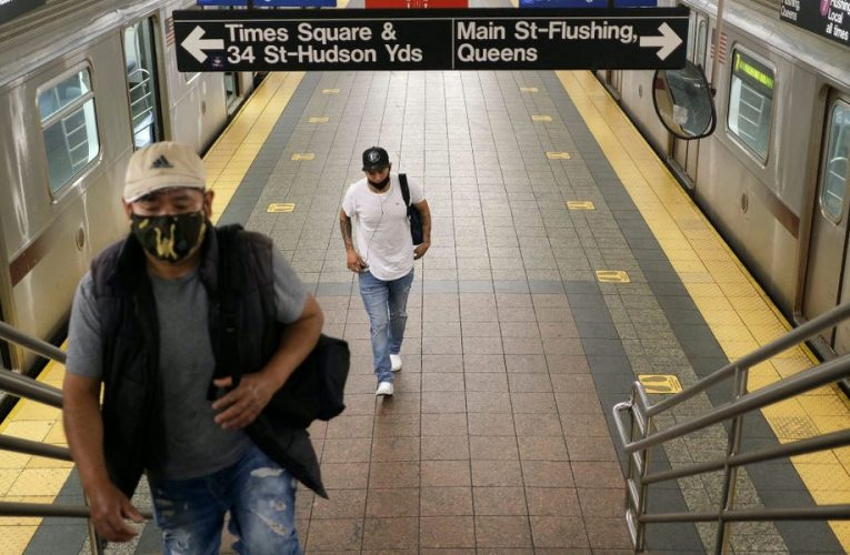 Anyone who doesn't wear a mask on public transport should be refused travel, the CDC said in stricter COVID-19 guidance