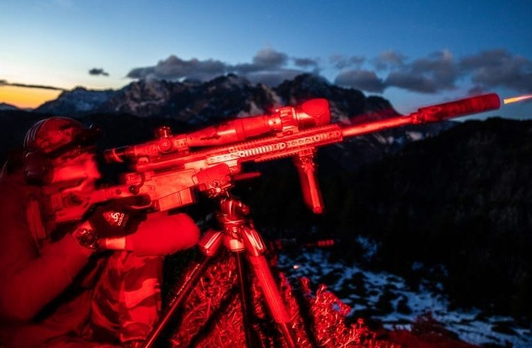 Stunning photos show Special Forces snipers taking tough high-angle shots way up in the mountains