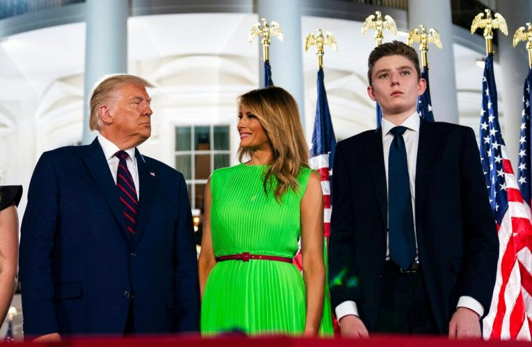 First lady Melania Trump will not travel to PA rally due to 'lingering cough' after COVID battle