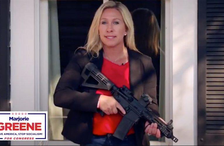 Georgia Republican Marjorie Greene slams House vote to condemn QAnon