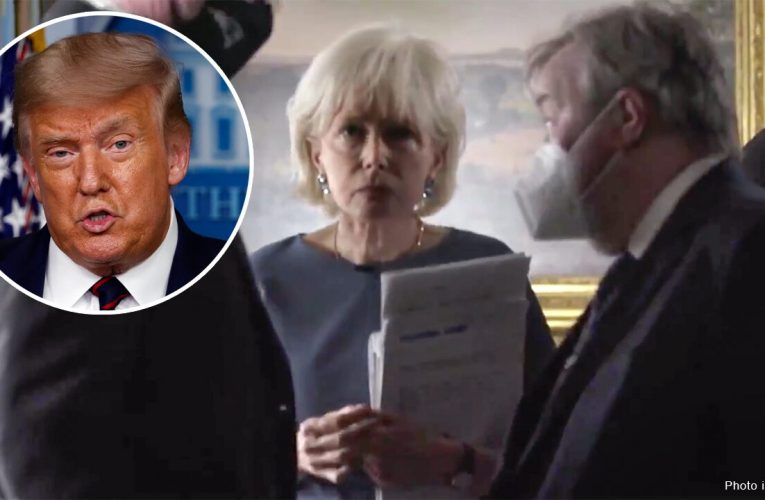 Trump calls out Lesley Stahl for not wearing mask at White House following 'extremely hostile' interview