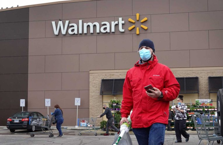Walmart resumes counting customers in stores and grocers reinstate limits on toilet paper as coronavirus cases surge
