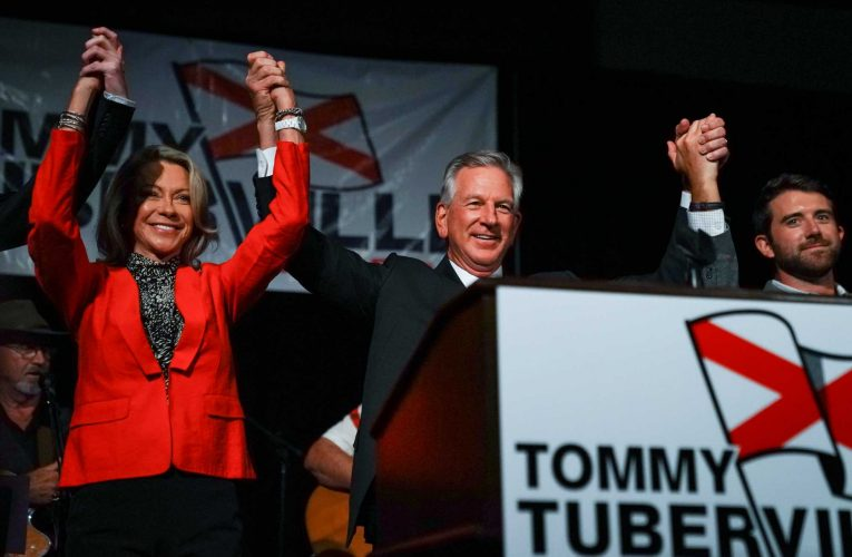 Tommy Tuberville projected to win Alabama Senate race over incumbent Sen. Doug Jones, a pickup for Republicans